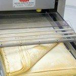 Laminoirs appareils à cylindres automatiques pour fabriques de pâtes