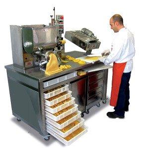 Petit laboratoire artisanal machines pour pâtes