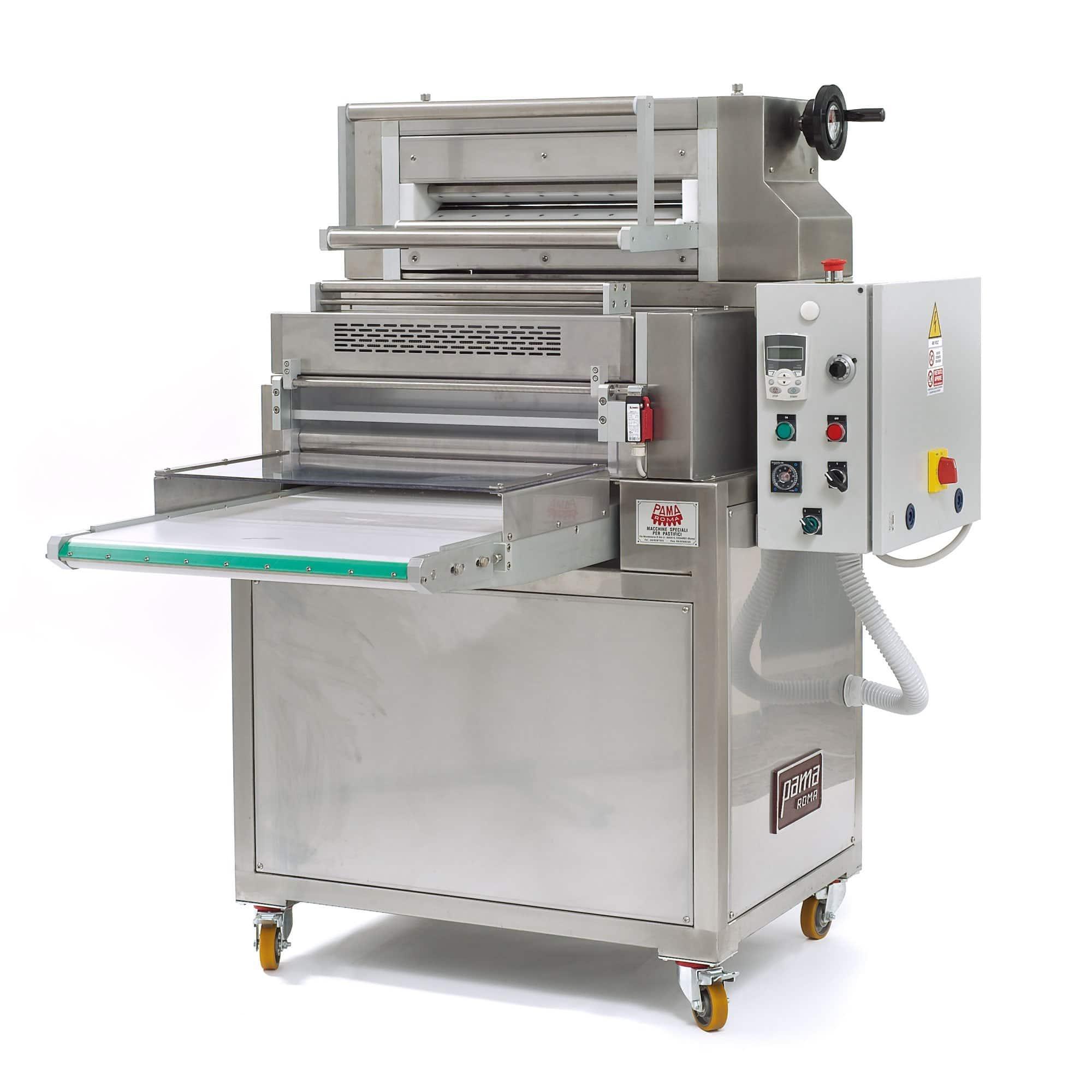 Laminoir machine à découper automatique pour le calibrage et la feuille et découpe Fettuccine, Tagliatelles, Tonnarelli, Pappardelle.