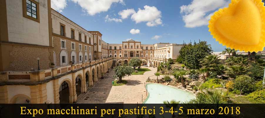 Fiera Expo macchinari per pastifici a Trapani in Sicilia