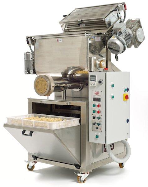Pastificio grande industriale macchine per pasta prod 120 kgh - Impastatrice per pasta fatta in casa ...