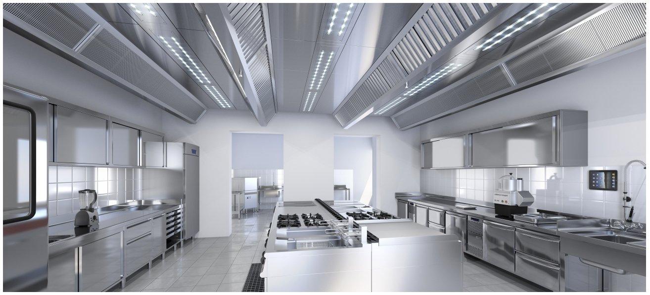 Arredamento neutro inox per pastifici gastronomie ristoranti for Arredamenti per ristorante