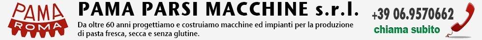 Macchine ed impianti per Pastifici