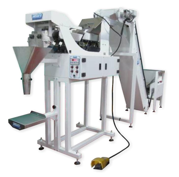 Pesatrice automatica per pasta secca