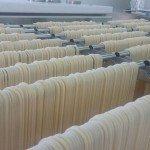 Carrello spaghetti pasta secca