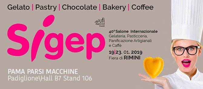 Macchine ed impianti per pastifici al SIGEP di Rimini
