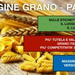 Etichettatura coinfezione di pasta secca