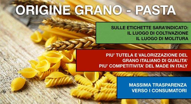 Etichettatura pasta secca: ecco la nuova normativa sulla tracciabilità