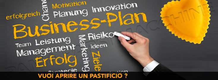 business plan per aprire un pastificio