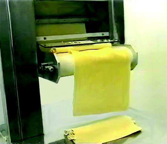 Sfogliatrici laminatoi taglierina automatici per pastifici