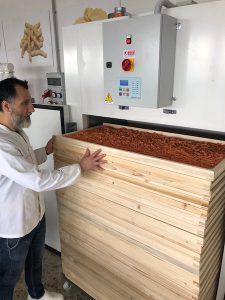 Essiccazione della pasta con essiccatoio statico