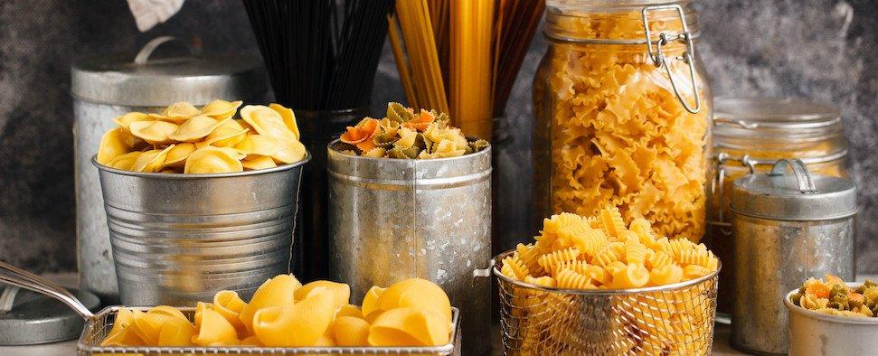 scelta di Pasta bar cooking Take Away