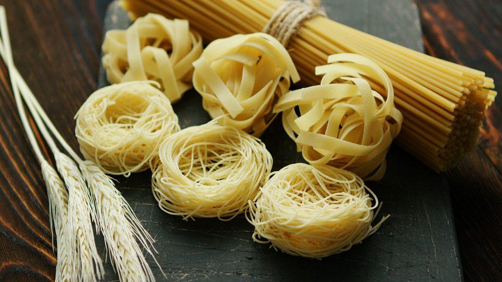 Tipi di pasta lunga secca
