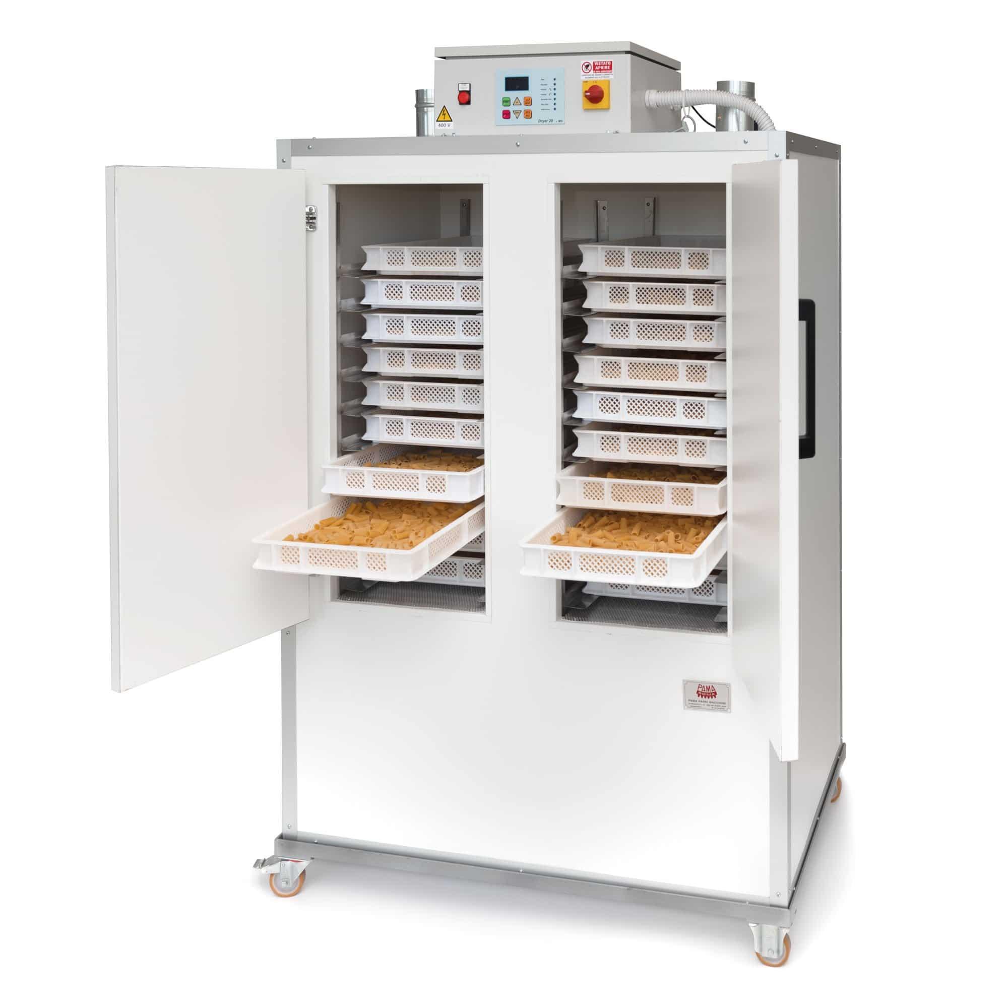Macchinari per pastifici Essiccatoi Raffreddatori Sterilizzatori per pasta